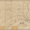 Map exhibiting the fixed location of the main trunk of the New-Orleans, Opelousas & Great Western Railroad of Louisiana: together with its proposed branches, connections and extensions in Louisiana, Arkansas & Texas ; also its connecting steamship routes from Berwicks Bay to ports in the Gulf of Mexico, together with the advantages in point of directness & diminished distance to the Pacific Coast, New Orleans, La., January 24th, 1859