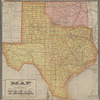 Map of the state of Texas [and Indian Territory]