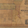 Map of the city of Milwaukee, Wisconsin