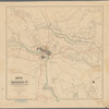 Map of Richmond, Va. and surrounding country showing Rebel fortifications : from the latest and most authentic surveys