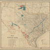 Map of the state of Texas locating lands of the New York and Texas Land Company Limited: being lands located under land grants to International, Houston and Great Northern Railroad Companies