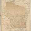 Railroad map of Wisconsin: prepared for the Railroad Commissioner