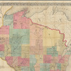 Chapman's sectional map of Wisconsin: with the most recent surveys