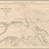 Military map of the Indian Territory