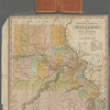 The travellers pocket map of Missouri with its roads & distances