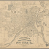 Thresher's souvenir map of St. Paul, Ramsey Co., Minn., 1887-8