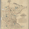 Rice's township & rail road map of Minnesota, 1871
