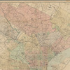 New map of the city of Philadelphia: from the latest city surveys : prepared for Gopsill's directories, 1889