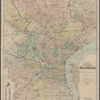 New map of the city of Philadelphia: from the latest city surveys : prepared for Gopsill's directories, 1893