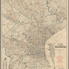 New map of the city of Philadelphia: from the latest city surveys, 1892