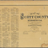 Map of Scott County, Minnesota: drawn from actual surveys and the county records