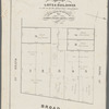 Map of lots & buildings as shewn by the dotted lines and figures to be sold at auction by James Bleecker & Sons