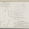 Map of five lots of land in the first ward of the city of New York belonging to the estate of Isaac Minard, deceased