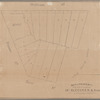 Map of property to be sold at auction by Jas. Bleecker & Soms on Thursday, Octobr. 22nd
