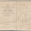 Map of 5 valuable lots of ground in the 15th Ward of the city of New-York, to be sold at auction by Messrs. R.R. Minturn & Co. on Wednesday the 4th day of February, 1835, at 12 o'clock at the Merchts. Exchange