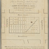 Map of lots on Broadway, Sixth Street, &. &., for sale at auction by James Bleecker & Sons at the Merchants' Exchange, on Monday, the 7th Jany., 1833
