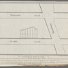 Peremptory sale of lots, on Thursday, 5th Jany., will be sold at auction by James Bleecker & Sons at 12 o'clock at the Merchants Exchange, 7 valuable building lots on the north side of 12th Street, near Broadway, as may be seen per map