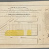 By order of the Court of Chancery, the 16 lots, coloured yellow, being part of the estate of Nicholas W. Stuyvesant, decd., will be sold on the 14th of January 1834, at 12 o'clock at the Merchants' Exchange by James Bleecker & Sons, under the direction of D. Codwise, esqr., Master in Chancery