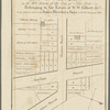 Map of property in the 9th ward of the city of New-York belonging to the estate of W.W. Gilbert, decd., to be sold at auction by James Bleecker & Sons on the 21st January 1833