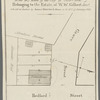 Map of property in the 9th ward of the city of New-York belonging to the estate of W.W. Gilbert, decd., to be sold at auction by James Bleecker & Sons on the 21st of January, 1833