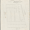 Map of property in the 9th ward, to be sold November 30th at the Merchants Exchange, at 12 o'clock, by James Bleecker & Sons