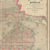 Official map of Michigan: railroad, township and sectional