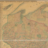 Map of Michigan and Wisconsin: compiled from the latest authentic sources