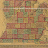 Map of the States of Michigan and Wisconsin: embracing a great part of Iowa, Illinois & Minnesota, and the whole mineral region, with charts of the lakes : exhibiting the sections, the soundings, the geological formations & the general topography