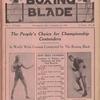 The Boxing blade, Vol. 4, no. 49