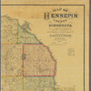 Map of Hennepin County, Minnesota