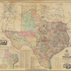 A.R. Roessler's latest map of the state of Texas: exhibiting mineral and agricultural districts, post offices & mailroutes [sic], railroads projected and finished, timber, prairie, swamp lands, etc. etc. etc.