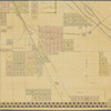 Abbott's map of the city of Minneapolis, Hennepin County, Minnesota