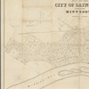 Map of the city of Saint Paul: capital of Minnesota