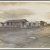 "Street and homes in ""Little Oklahoma."" Forty families in this group. Tents, tent houses, shacks, freight cars converted into homes"