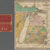 The travellers pocket map of Michigan: with its canals, roads & distances