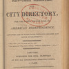 New York City directory, 1819/20