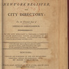 New York City directory, 1805/06