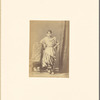 Ladlee dancing girl from the Oudh Court of Lucknow: no. 22