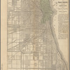 Map of Chicago: showing the parks, boulevards, and burnt district : accompanying Chicago and the Great Conflagration, by Colbert & Chamberlin
