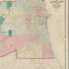 Map of Chicago and its western suburbs