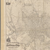 New and enlarged map of Baltimore city: including Waverly, Hampden, all the parks, and a minature map of the state prepared from the latest surveys