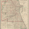 Map showing the boulevards and park system and twelve miles of lake frontage of the city of Chicago