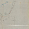 Map of a part of the Village of Muskegon: shewing the located line of the Michigan Lake Shore Railroad
