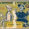 Promotional poster for the stage production The Wizard of Oz featuring The Tin Woodsman and the Scarecrow