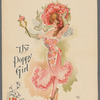 Promotional poster for the stage production The Wizard of Oz featuring The Poppy Girl