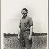 Homesteader, farmer, who has been working on the community farm since 1934. Hightstown, New Jersey