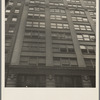 Background photograph for Hightstown project. Garment factory on West Twenty-first Street, New York City. Mr. Jacob Solomon, one of the two hundred and fifty selected family heads for the Hightstown Project, is employed in this building. ...