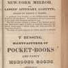 New York City directory, 1829/30