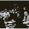 Harold Prince and company during rehearsals for the stage production A Little Night Music