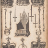 Ancient coronation chair and regalia of England, opp. p. 82